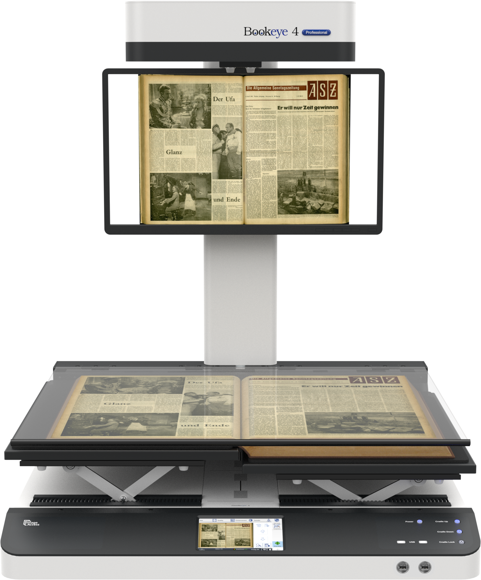 Bookeye® 4 V1A - Book Scanner - Book Scanners