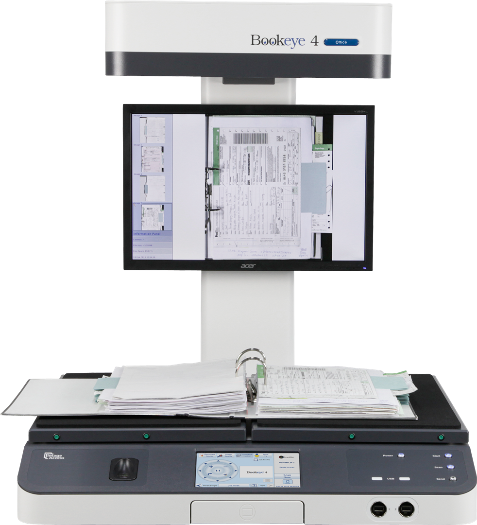 Bookeye 4 V2 Office - Book Scanner - Book Scanners