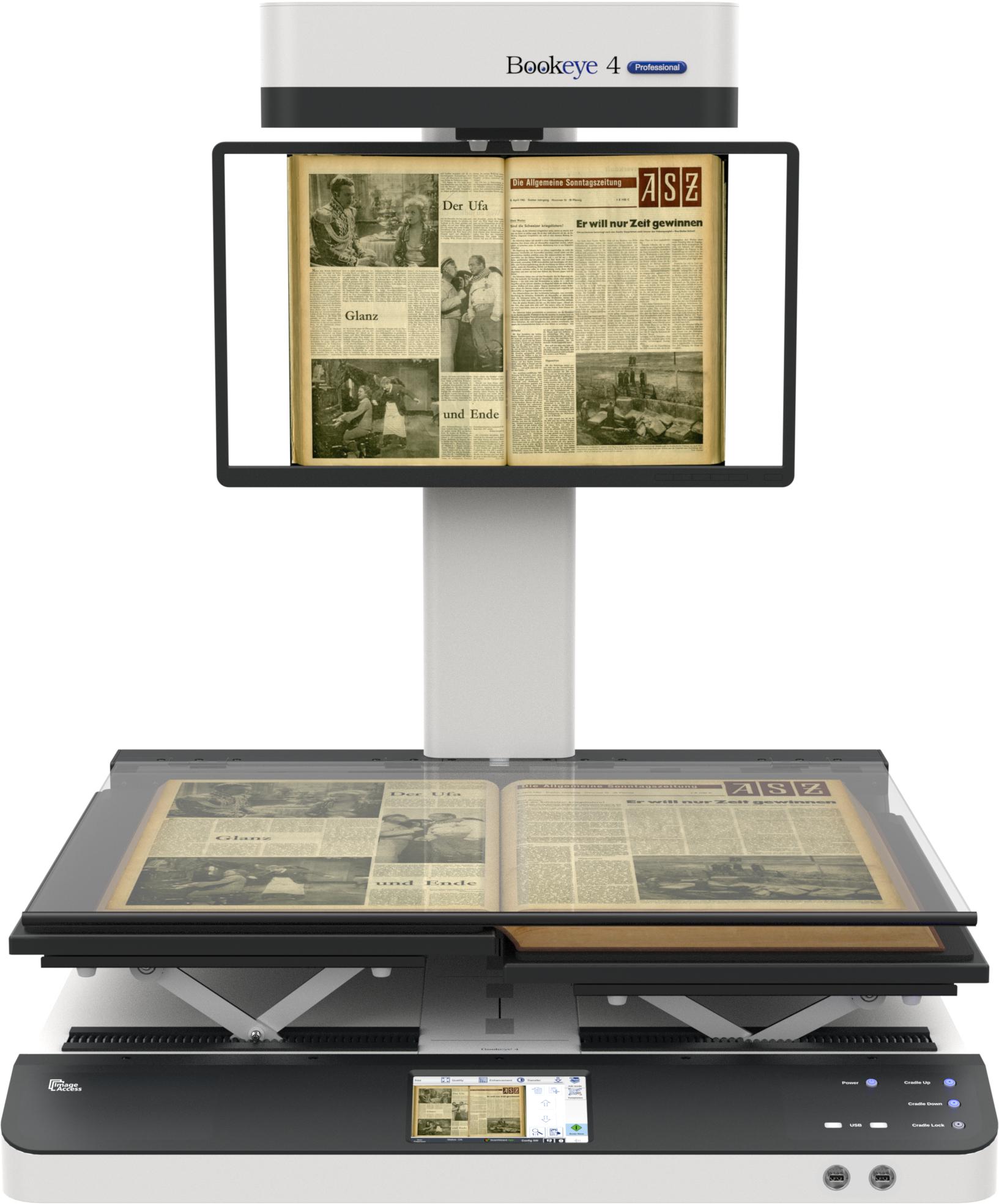Bookeye® 4 V1A - Book Scanner - Book Scanners