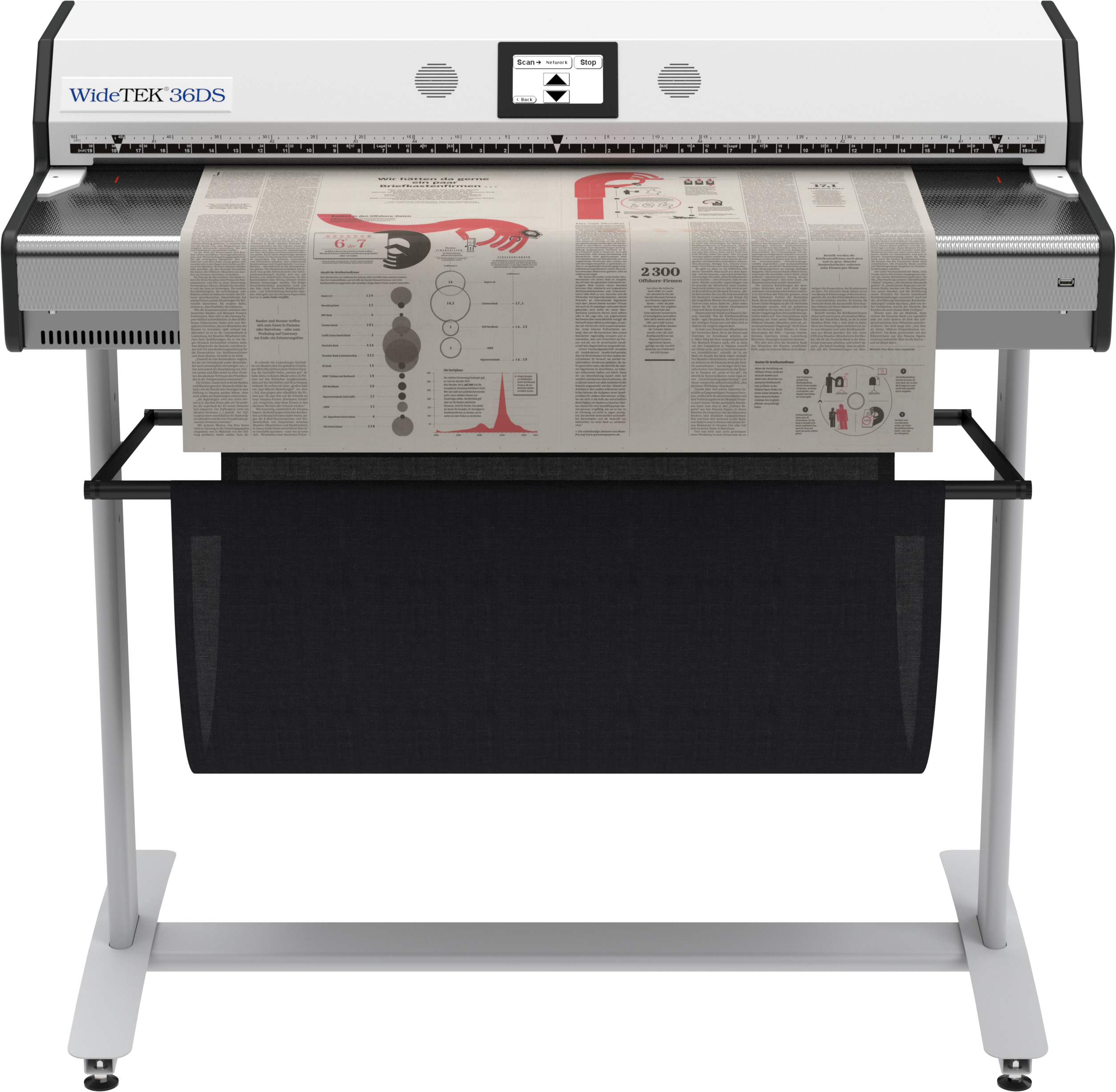 WideTEK 36DS-600 - Wide Format Scanner - Wide Format Scanners